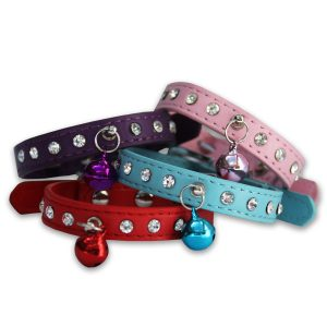 Bell Diamante Collar - All Colours