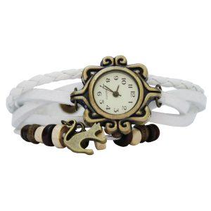 Charming Cat Watch - white
