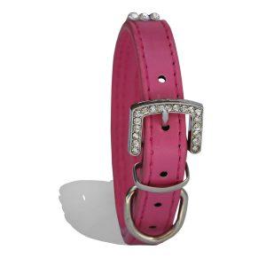 Collar diamante dark pink (1) (1)