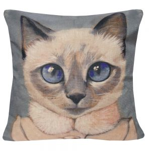 Cushion cat face 3