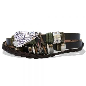 Leather bracelet view 2