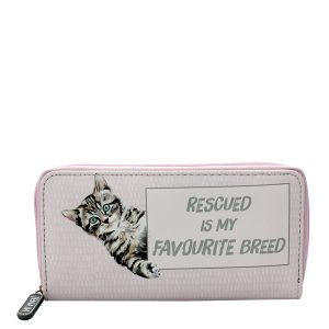 jenam pink rescued wallet