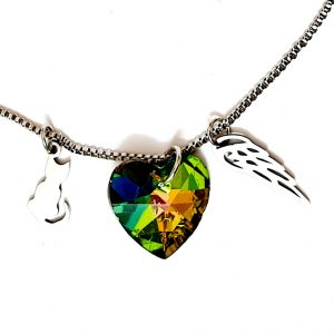 pendant green heart1