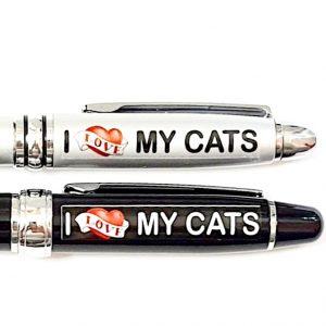 i love my cats pen set2